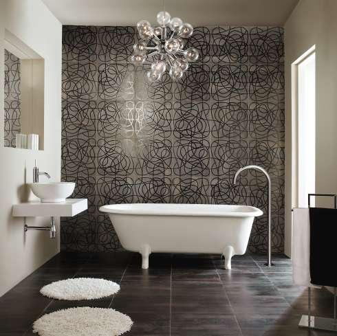 porcelain floor tiles - favourite bathrooms