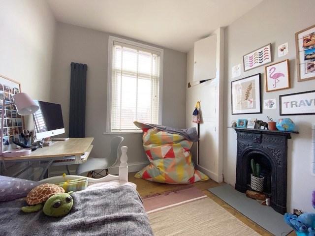 small victorian bedroom renovation