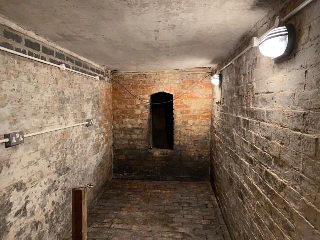 victorian coal room lighting cellar