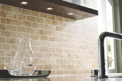 travertine wall tiles kitchen using accent tiles to revamp your kitchen or bathroom 6363