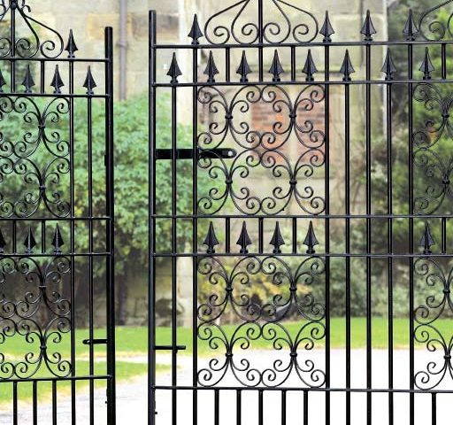 enhance the exerior of your home with gates