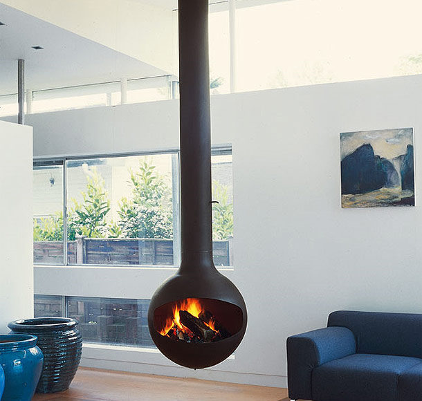 seasonal changes - winter fires at home